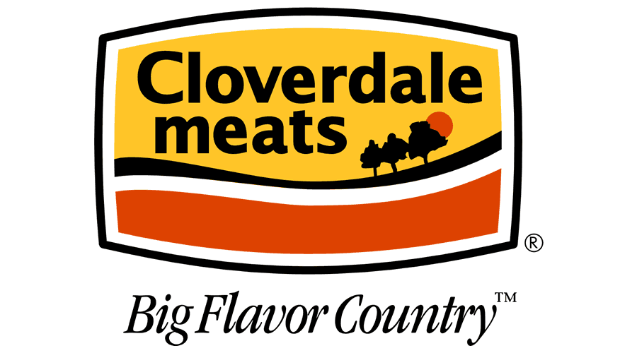 Cloverdale Meats Big Flavor Country Logo Vector - (.SVG + .PNG ...